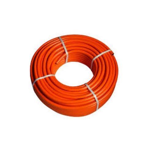 PB gáztömlő 9x15 mm 20 bar=2,0 Mpa narancssárga, import