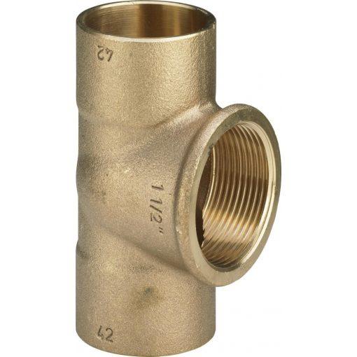 """VIEGA forrasztható t-idom belső menettel 22-1/2""""-22 mm (94130G)"""