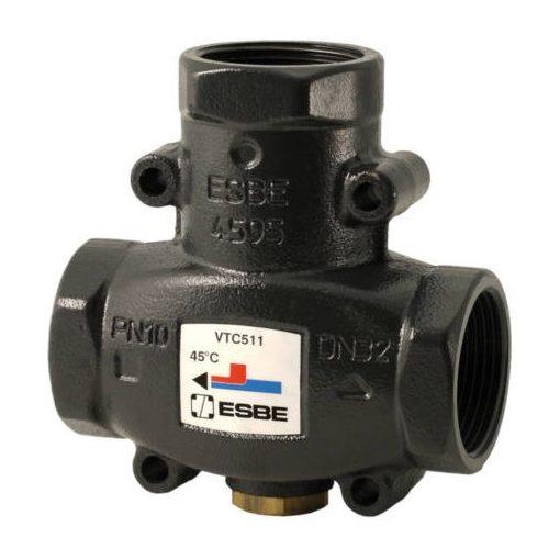 """ESBE VTC511 háromjáratú termosztatikus szelep 1"""" 60°C"""