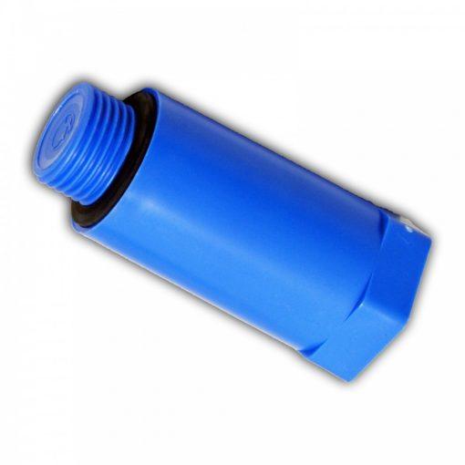 """HAAS nyomáspróba dugó, kék, 1/2"""""""