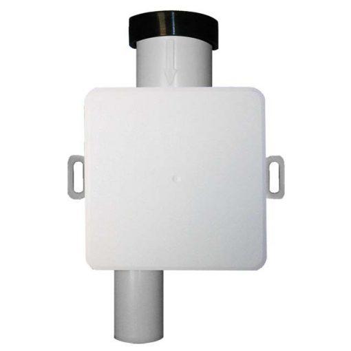 HL Hutterer & Lechner HL138 klímaszifon falba süllyesztve DN32 - 100x100mm