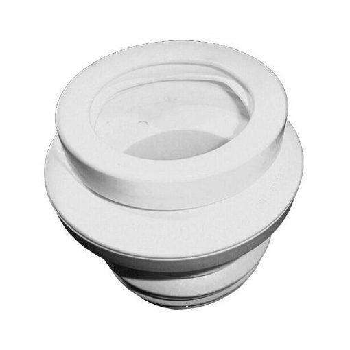 HL Hutterer & Lechner HL200/1 WC-csatlakozó elfordítható excenterrel, többrészes DN110 ajakos tömíté
