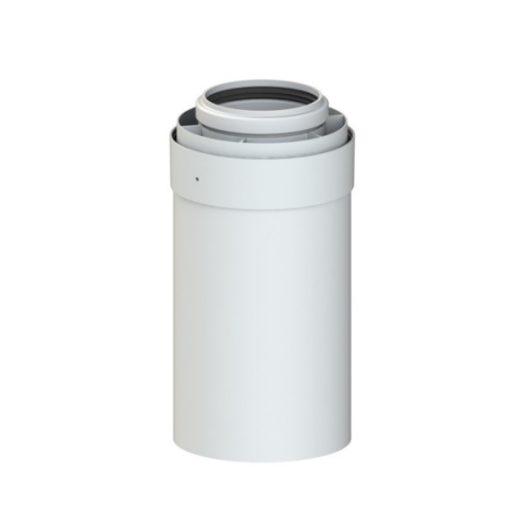 TRICOX PPs/alu cső 80/125 mm, L=500 mm