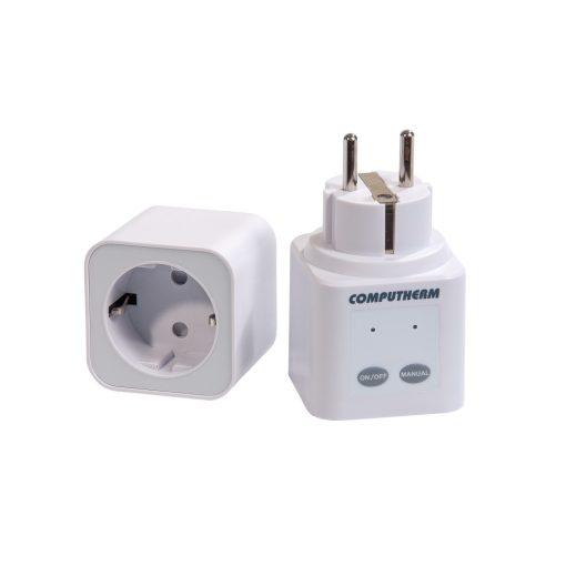 COMPUTHERM Q1 RX vezeték nélküli (rádiófrekvenciás) termosztáttal vezérelhető dugalj