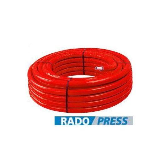PIPELIFE RADOPRESS szigetelt ötrétegű cső 16x2 (Piros)
