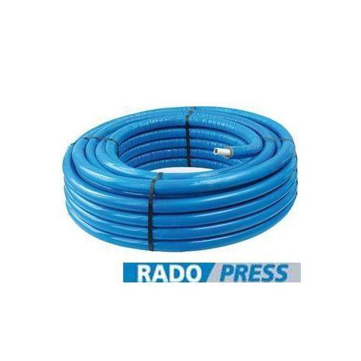 PIPELIFE RADOPRESS szigetelt ötrétegű cső 26x3 (kék)