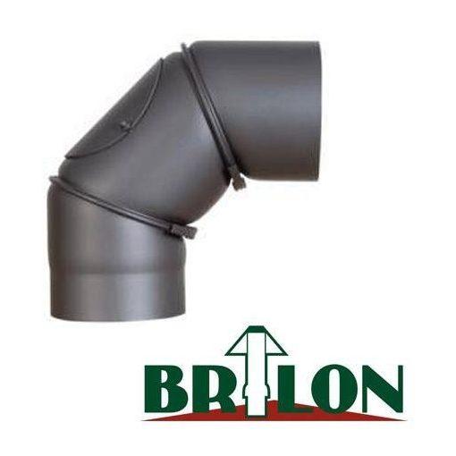 BRILON vegyestüzelésű tisztító könyök 150 mm állítható 45°-90°