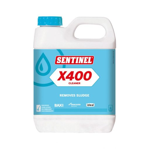 SENTINEL iszapeltávolító és tisztító adalék régi rendszerekhez, 1 liter